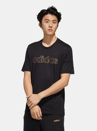 Černé pánské tričko adidas CORE