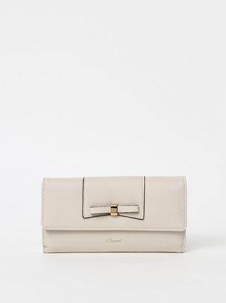 Krémová peňaženka Gionni Kara