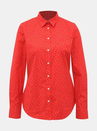 Červená dámská vzorovaná košile GANT