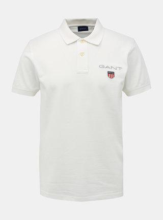 Bílé pánské polo tričko GANT