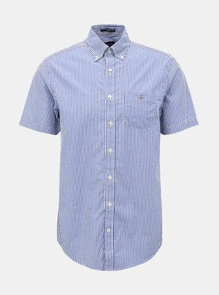Modrá pánská pruhovaná košile GANT