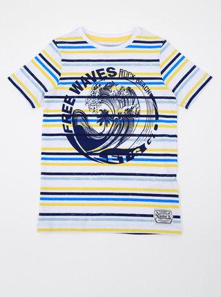 Modro-bílé klučičí pruhované tričko name it Fonzo