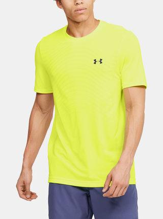 Žluté pánské tričko Seamless Wave Under Armour