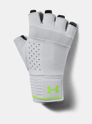 Šedé pánské vzpěračské rukavice Under Armour