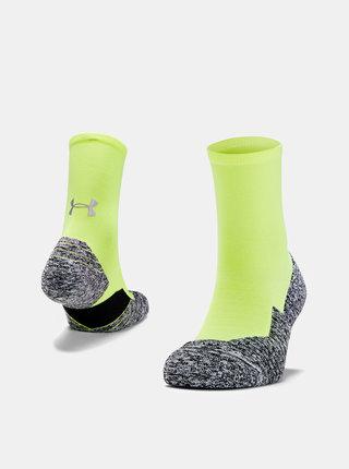 Žluté pánské ponožky Run Cushion Under Armour