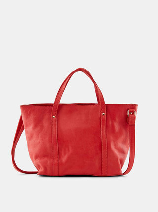 Červená kabelka Pieces Aida