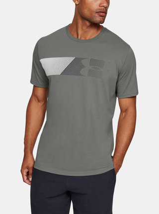 Zelené pánské tričko Fast Under Armour