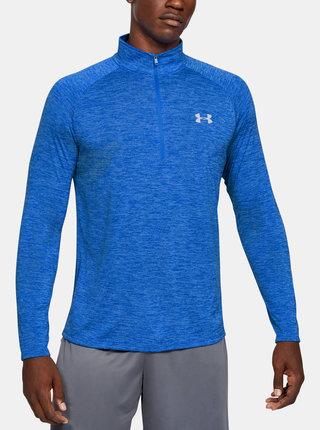 Modré pánské tričko Tech Under Armour