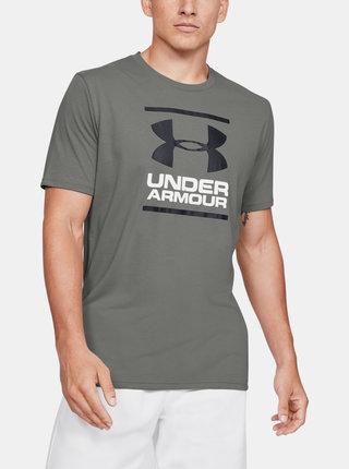 Zelené pánské tričko Foundation Under Armour