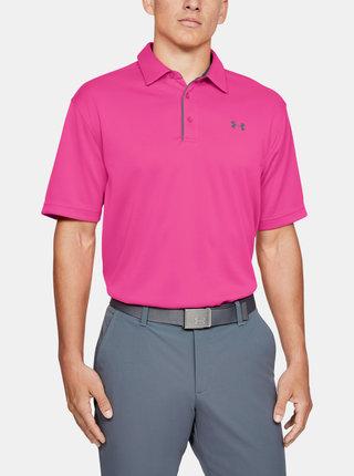 Růžové pánské polo tričko Under Armour