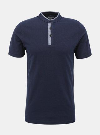 Tmavomodré tričko Jack & Jones Erza
