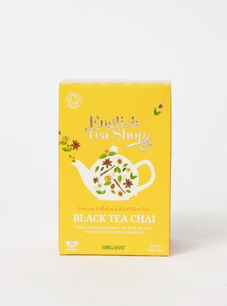 Bio černý čaj se skořicí, kardamomem, muškátovým květem, zázvorem a lékořicí English Tea Shop