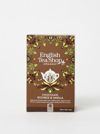Bio bylinkový čaj s rooibosem, kakaem a vanilkovými lusky English Tea Shop