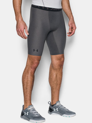 Šedé kompresní boxerky HeatGear Under Armour