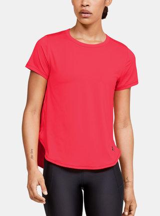 Červené dámské tričko Crossback Under Armour