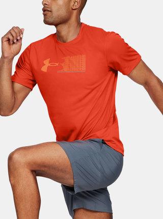 Oranžové pánské tričko Escape Under Armour