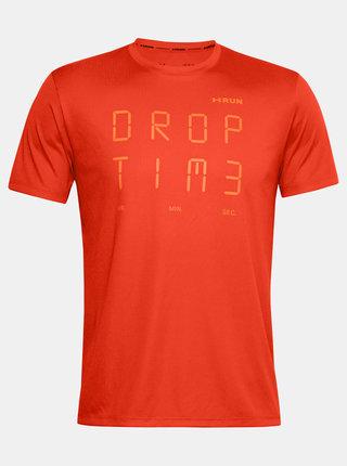 Oranžové pánské tričko Time Under Armour