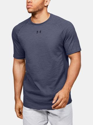 Modré pánské tričko Charged Under Armour