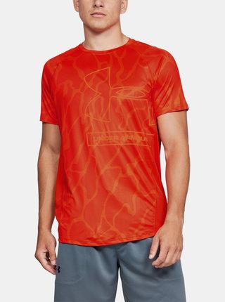 Oranžové pánské tričko MK1 Tonal Under Armour