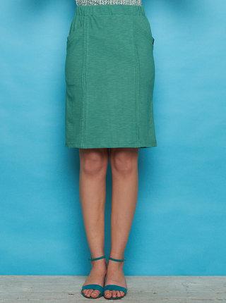 Zelená sukňa Tranquillo