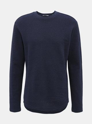 Tmavomodrý sveter ONLY & SONS Leech