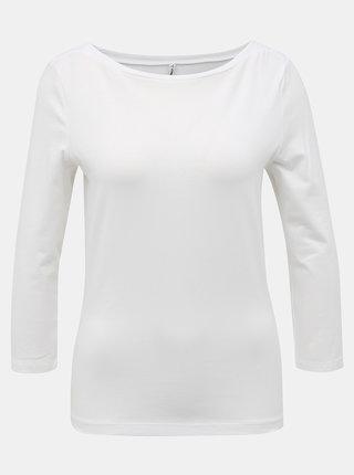 Biele basic tričko ONLY Fifi