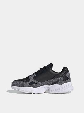 Černé dámské tenisky s koženými detaily adidas Originals