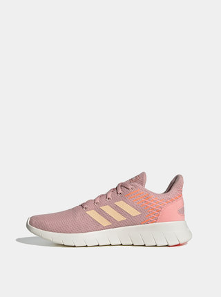 Růžové dámské tenisky adidas CORE