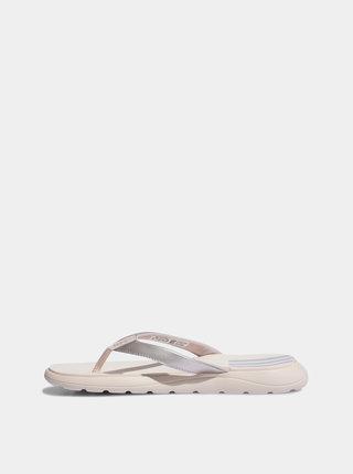 Svetloružové dámske žabky adidas CORE