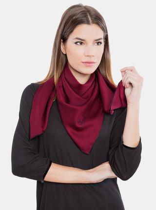 Vínový dámský šátek Versace 19.69
