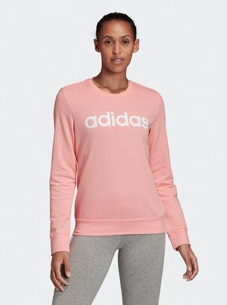 Růžová dámská mikina adidas CORE