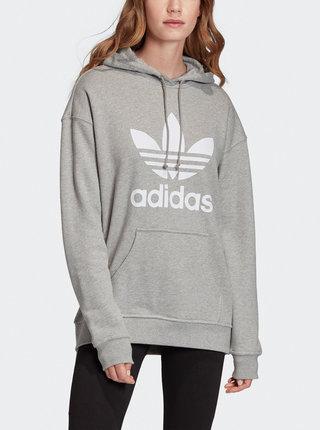 Šedá dámska mikina adidas Originals