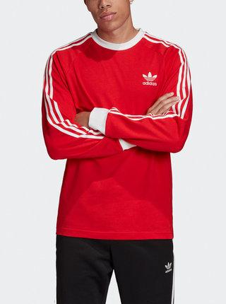 Červené pánske tričko adidas Originals