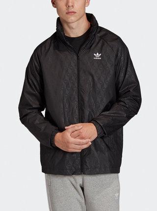 Černá pánská vzorovaná bunda adidas Originals