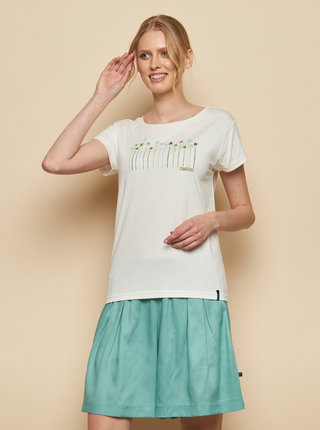 Biele tričko s potlačou Tranquillo Kunto