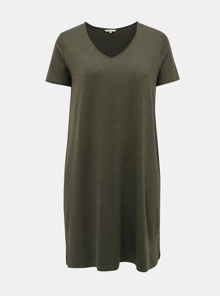 Zelené šaty ONLY CARMAKOMA Carmakoma