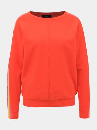 Červený svetr s lampasem M&Co