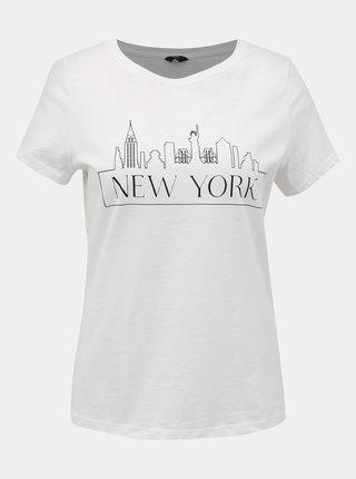 Biele tričko s potlačou M&Co Petite