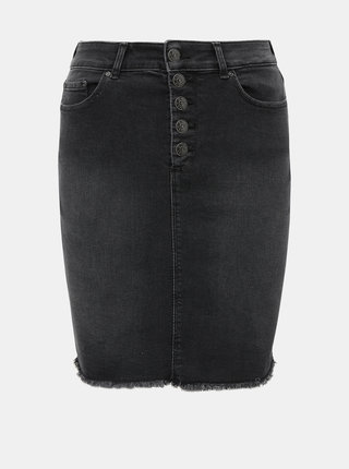 Černá džínová sukně ONLY Blush