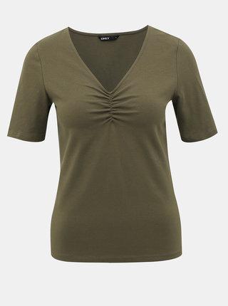 Zelené tričko ONLY Sally