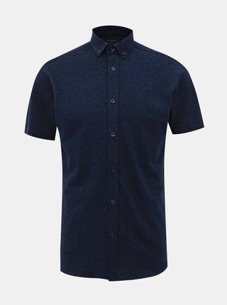 Tmavě modrá slim fit košile Selected Homme