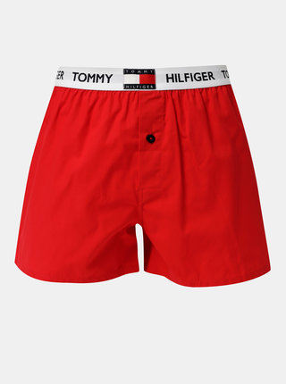 Červené pánske trenýrky Tommy Hilfiger