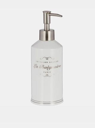 Bílý dávkovač na mýdlo BUTLERS