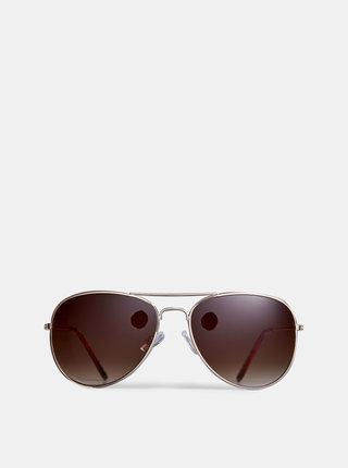 Slnečné okuliare v zlatej farbe Dorothy Perkins