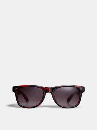 Čierno-hnedé vzorované slunečné okuliare Dorothy Perkins