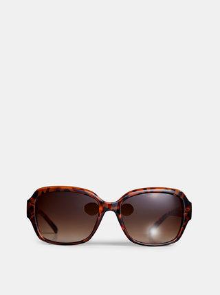Hnědé sluneční brýle se zvířecím vzorem Dorothy Perkins