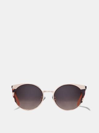 Sluečné okuliare v ružovozlatej farbe Dorothy Perkins