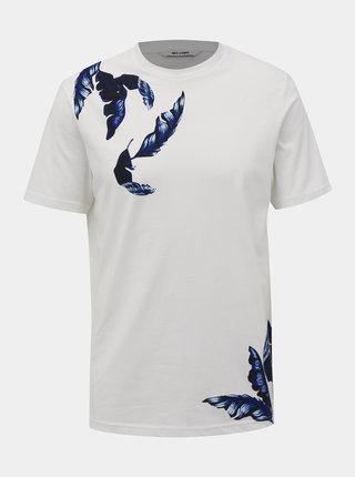 Biele tričko s potlačou ONLY & SONS Kosta