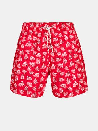 Červené pánske vzorované plavky killtec Paloro