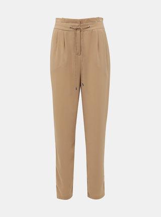 Béžové kalhoty VERO MODA Jenni